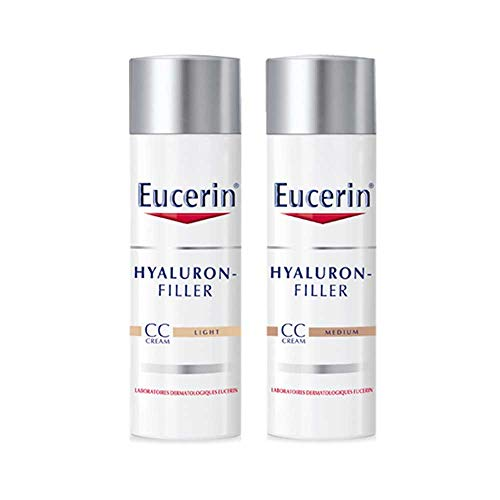 EUCERIN Hyaluron-Filler CC cream Light Tube de 50...