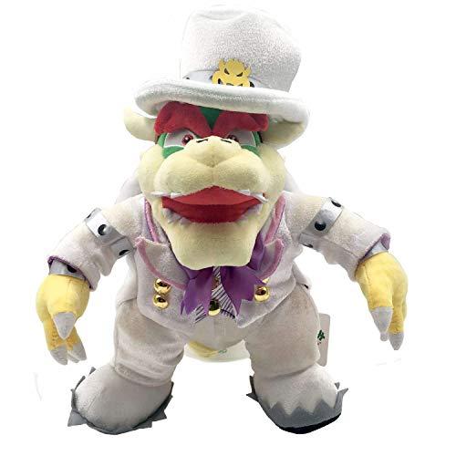 Cxjff Jellycat Conejo Gris Llavero de niffler Vestido Super Mario Odyssey Rey Bowser Jefe de la Boda de la Felpa del Animal Relleno de 14 Pulgadas Los Productos generalmente se emiten Dentro de 2-3