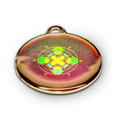 Hologramm Amulett