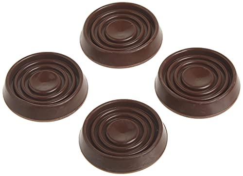 Shepherd Hardware 9075 1-1/2-Inch Round Rubber Furniture Cups, 4-Pack
