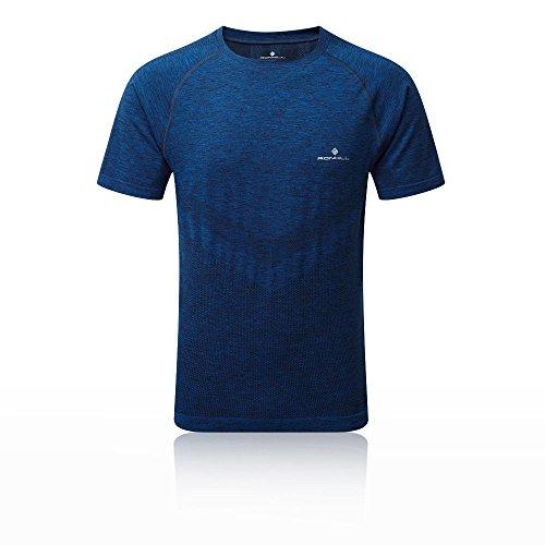 Ronhill Infinity Marathon Short Sleeve T-Shirt Homme, Rh-00382 Electric Blue Marl, X Small