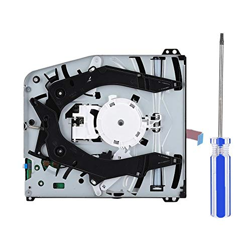 Optical Disk Drive for Sony PS4‑Slim 2000, Game Console Internal Slim Optical Disk Drive Replacement with Screwdriver, PS4 Accessories(PS4 Slim2000)
