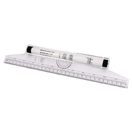 Allzweckthermometer mit Schablone zum Ausrollen von Winkelmesser, 30 cm de