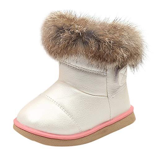 Beikoard Kinder Babyschuhe Mädchen Stiefel Mode Baby Warme Baumwolle Gepolsterten Schuhe rutschfest Schnee Stiefel Warm Schuhe Freizeitschuhe