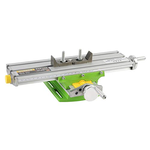Epissche Fresadora Multifuncional de Micro precisión Mesa de Tornillo de Banco de Taladro Tabla de coordenadas de Ajuste del Eje X Y