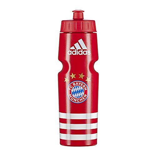 adidas FC Bayern München Trinkflasche Rot Weiss