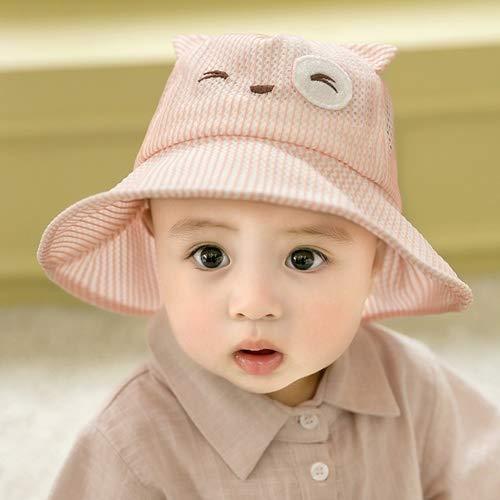 Sombrero para niños Sombrero para bebés Sombrero de verano para bebés Sombrero de pescador para niñas Sombrero para el sol Sombrero para el sol Gorra de malla Sombrero de verano Sombrero para lavabo