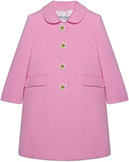Luxury Fashion Girls L53C40G7TDGF0660 Pink Coat | Fall Winter 19