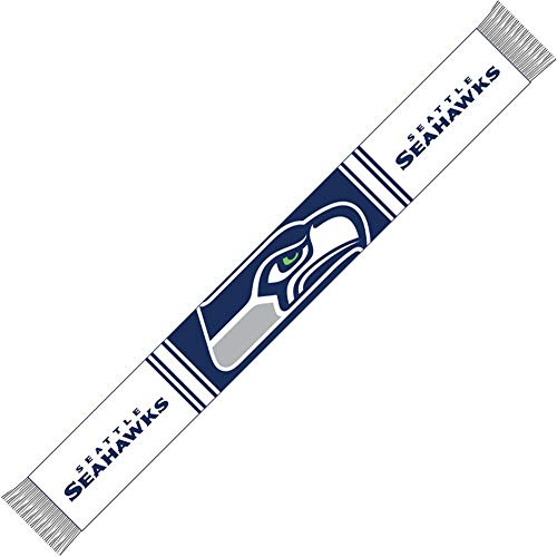 Forever Collectibles Seattle Seahawks Bar Scarf Colour Rush Navy/White - One-Size