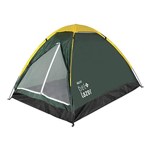 Barraca Camping Dome 4 Premium Bel Fix Laranja/Cinza