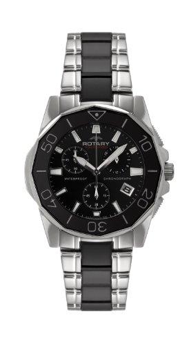 Rotary Damen-Armbanduhr Aquaspeed Analog Quarz Verschiedene Materialien ALB00033/C/BLK