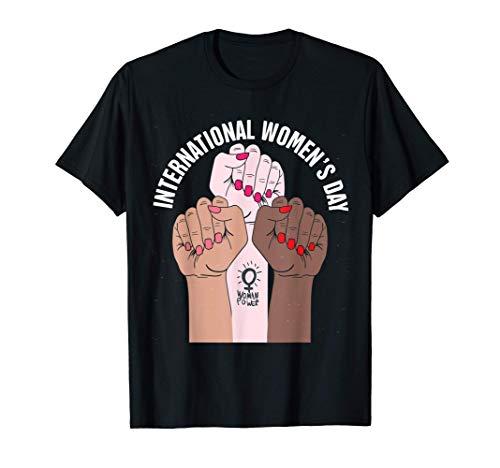 Día Internacional de la Mujer 8 de marzo de 2021 Regalo para Camiseta