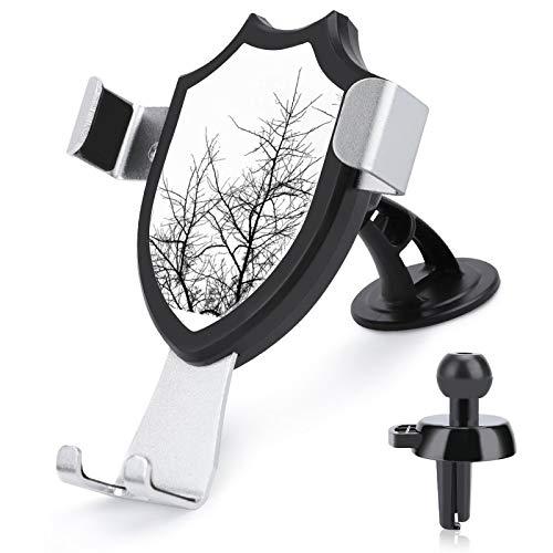 Soporte de ventilación para coche con manos libres, soporte para teléfono celular, ramas de árbol compatible con iPhone 12/12 Pro/11 Pro Max/8 Plus y más teléfonos móviles de 4 a 6 pulgadas