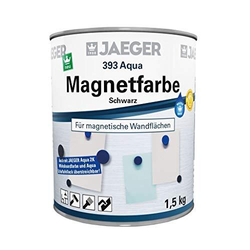 Jaeger 393 Aqua Magnetfarbe schwarz 1,5 kg für magnetische Funktionswände