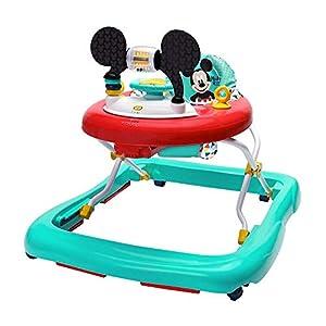 Bright Starts, Disney Baby Andador y Centro de actividades Mickey Happy Triangles, 6+ meses