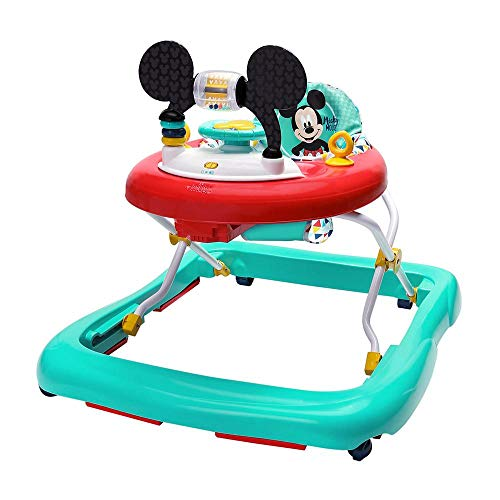 Bright Starts, Disney Baby Andador y Centro de actividades Mickey Happy Triangles, 6+ meses