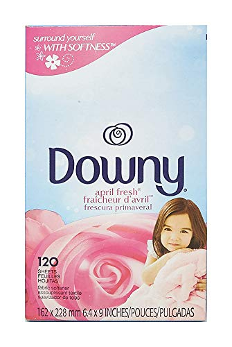 Downy April Fresh Fabric Softener Dryer Sheets, 120 count
