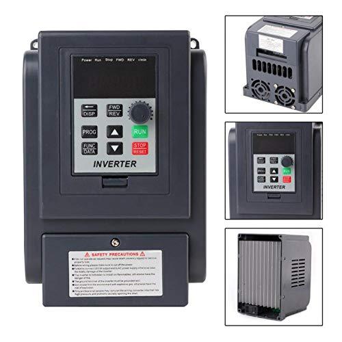 AMONIDA Inversor Estable de Alta precisión, inversor VFD antiimpacto Resistente al Calor, para Bombas de Ventiladores