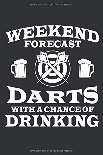 Bier und Darts: Notizbuch für Brauer, Bierliebhaber und Dart Spieler / Fans