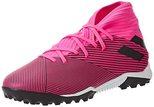 adidas Unisex Nemeziz 19.3 Tf J Fußballschuhe, Pink Schwarz, 42 2/3 EU