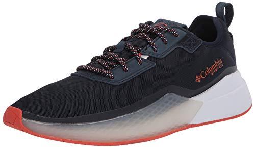 Columbia mens Low Drag Pfg Sneaker, Collegiate Navy/Tangy Orange, 10 US