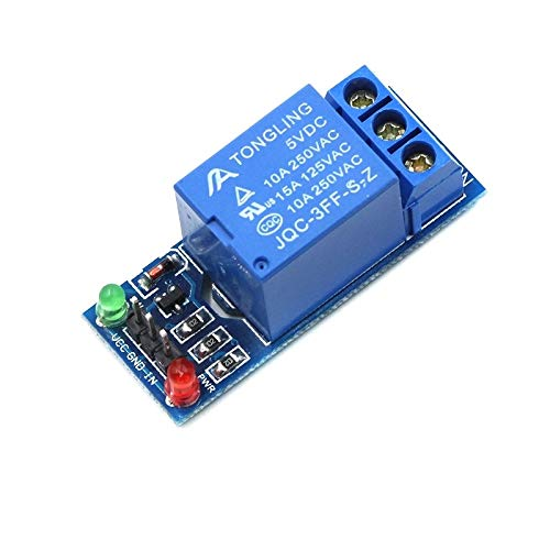QYSZYG Auto repair accessories 5V 12V 1 2 4 6 8 channel relay module with optocoupler. Relay Output 1 2 4 6 8 way relay module for arduino (Color : 1 channel 5V)