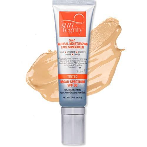 Suntegrity 5-in-1 Golden Light Natural Tint Moisturizing Sunscreen
