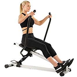 Sunny Health & Fitness Incline Full Motion Rowing Machin...