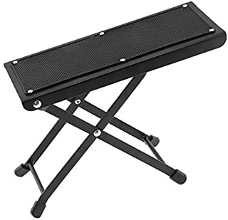 OriGlam Guitar Foot Rest Stool, Height Adjustable Guitar Foot Rest, Anti Slip Guitar Foot Stool Footstool, Strong For Clas...