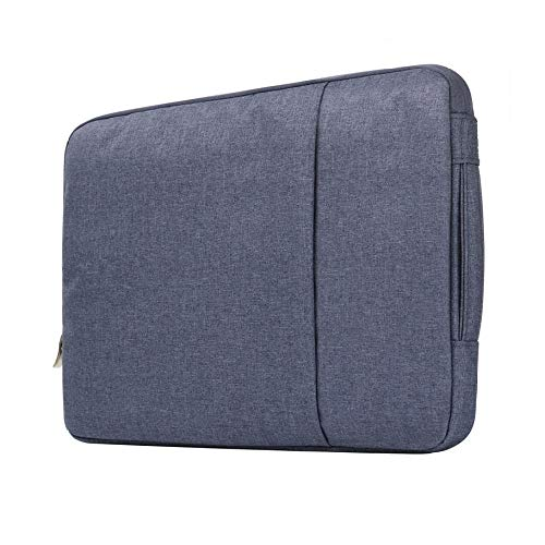Xixihaha Multifunction Laptop Sleeve Case 14/15./15.6 Inch Notebook Travel Carrying Bag Waterproof Protective Cover For Macbook Air Pro 13 15 (Color : Zang Blue, Size : 11 inch)