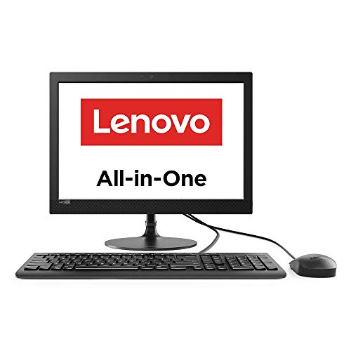 Lenovo IdeaCentre AIO 330 19.5-inch All-in-One Desktop (Intel Celeron J4025/4GB/1TB HDD/DOS/Integrated Intel UHD Graphics), Black (F0D7008DIN)