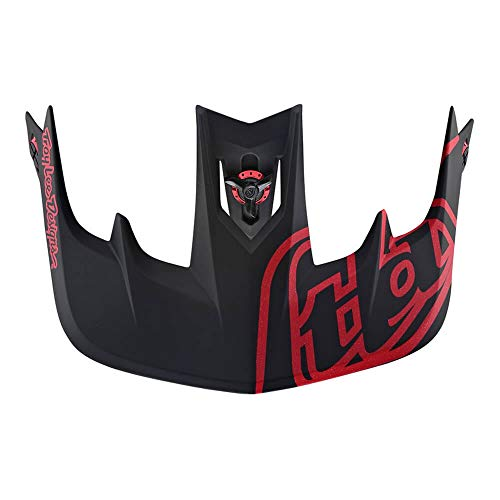 Troy Lee Designs Visière Casque VTT 2019 Stage Race Noir Rouge (Default, Rouge)