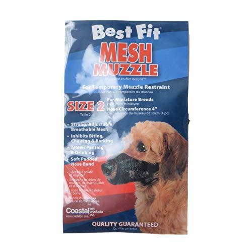 Coastal Pet Best Fit Dog Muzzle Size: 6