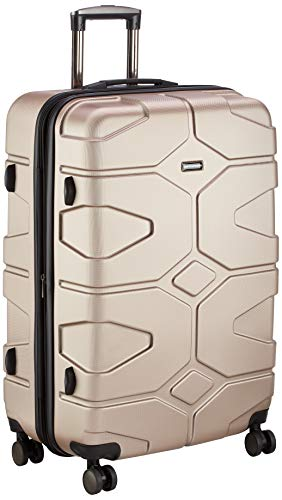 Hauptstadtkoffer - X-Kölln - Set of 2 Hard-side Luggages Trolley Expandable Suitcase 4 Wheel Spinner, TSA Lock, (S/L), Gold