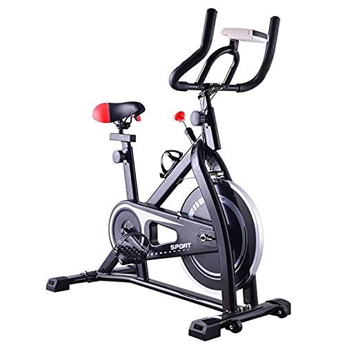 DJDLLZY Bicicletas de Spinning Bicicletas, Ejercicio, de Interior Ciclismo, Bicicleta estática, Bicicletas de Ciclo for el Ejercicio, for el hogar Cardio del Gimnasio con Asiento