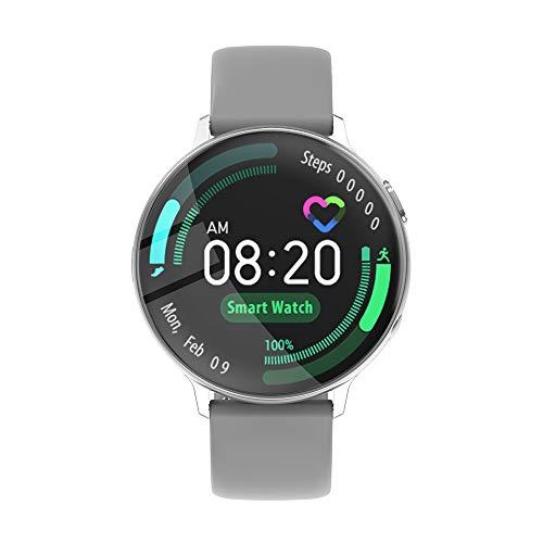 """Fesjoy 1,3""""Touchscreen Smart Watch Herzfrequenzüberwachung Blutdruckerkennung Sicherer Schlaf Multisport-Modus IP67 wasserdichte Fitness-Smartwatches für Männer Frauen Kompatibel mit Android/iOS"""