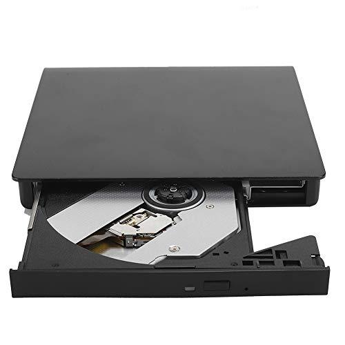 Heayzoki DVD Burner,USB3.0 External Mobile Optical Drive DVD-RW Burner Brushed Laptop Accessory for 8X / DVD-ROM,External USB 3.0 Burner For Desktop Notebook,Plug and Play