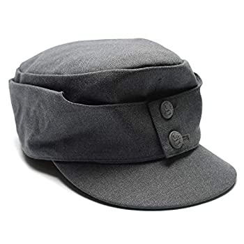 Genuine Finnish army M65 field cap Finland military issue surplus wool hat Gray Large
