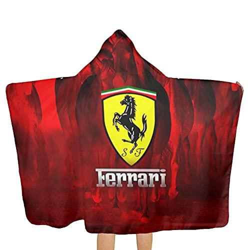 Large Puzzle Ferrari - Esterilla de yoga con agarre de sudor y toalla combinada, ideal para yoga, pilates, ejercicio, entrenamiento, Bikram y yoga caliente