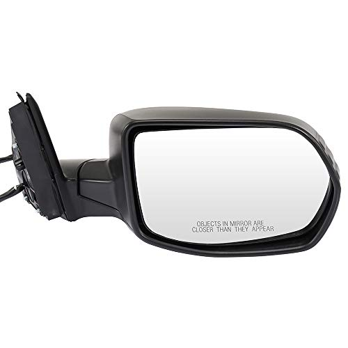 SCITOO Door Mirror Right Passenger Side Manual Folding Rear View Mirror Power Adjustment Fit for 2007 2008 2009 2010 2011 for Honda CR-V Heated
