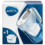Brita Style Water Filter Jug and Cartridge, Soft Grey