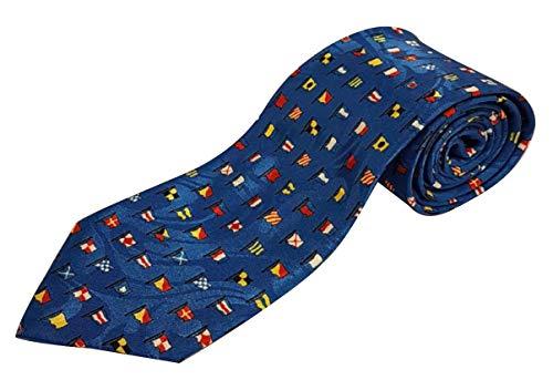 Cravate fantaisie - Drapeau marin