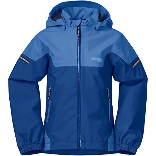 Bergans Jungen Kid's Ruffen Jacket Regenjacke Blau 116