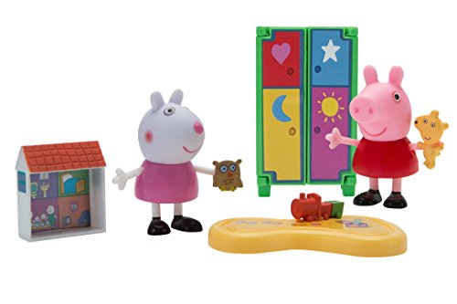 Peppa Pig Little Rooms Playdate Fun Playset