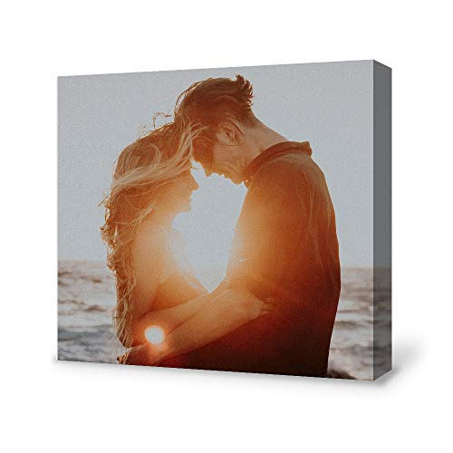 Bestdeal Depot Custom Canvas Wall Art with Your Baby Photo for living room,Bedroom Personalized Canvas Prints Digitally Printed-12x12 inches