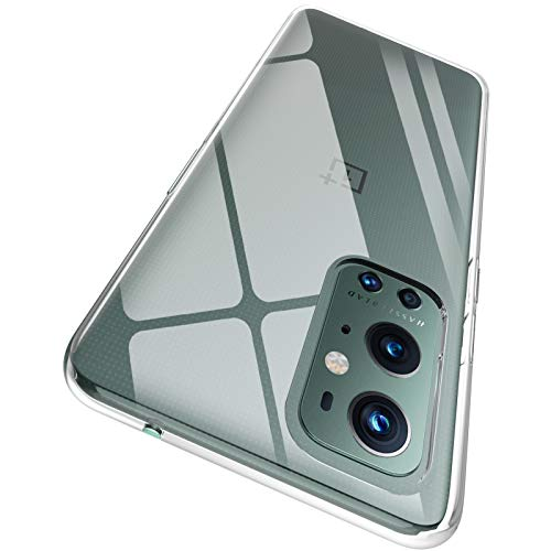 """ORNARTO Crystal Clear Cover OnePlus 9 PRO 5G, Estremamente Sottile Morbida e Protettiva TPU Flessibile Trasparente Custodia per OnePlus 9 PRO 5G(2021) 6,78"""""""