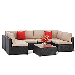Best Cheap Outdoor Sectional Sofas 2020 (Reviews) - The ...
