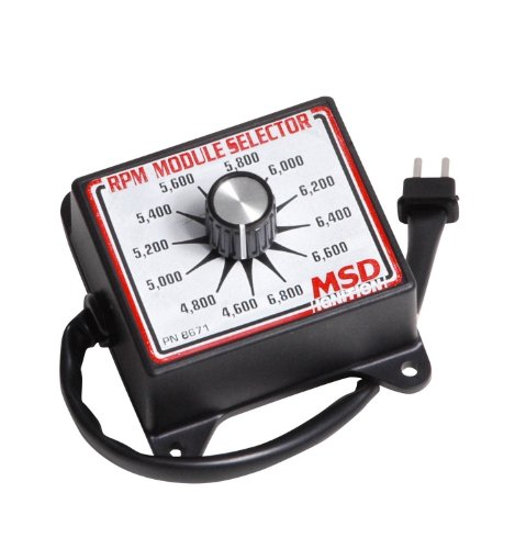 MSD Ignition 4600–6800 RPM modules Selector