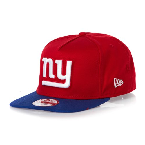 New Era - Casquette Snapback Homme 9Fifty NFL Reverse Team Logo - New York Giants - Taille S/M