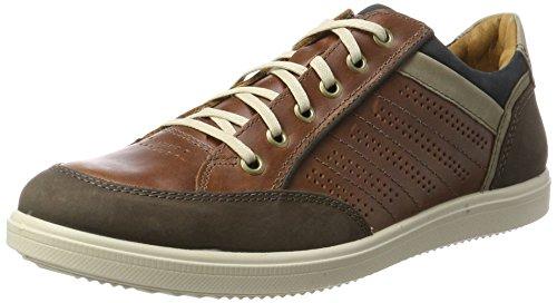 Jomos Herren 1928 Sneakers, Braun (capucino/cognac 155-3123), 48 EU
